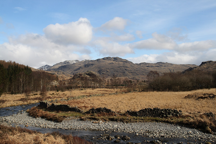 Looking up the River Duddon to Little Stand