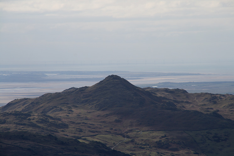 Zooming in on Stickle Pike