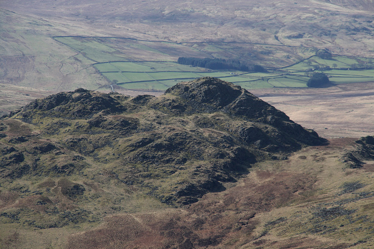 Zooming in on Green Crag again