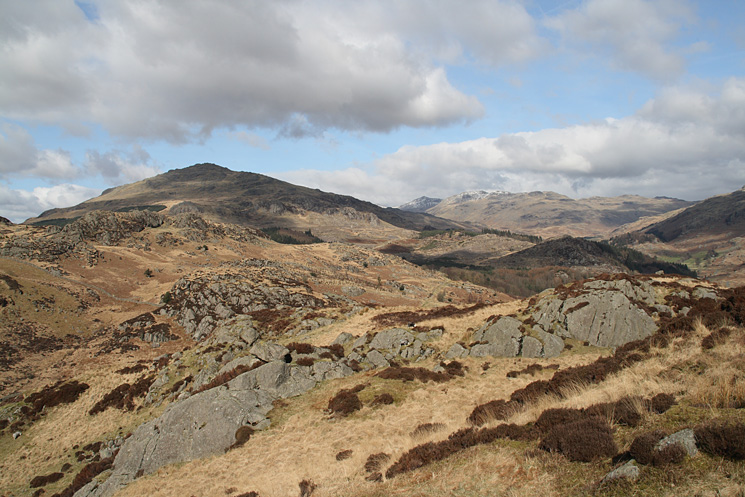 Harter Fell from Wallowbarrow Crag's summit