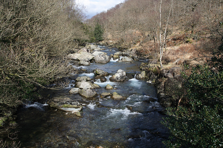 The River Duddon from the Memorial Bridge