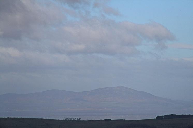 Criffel in Scotland