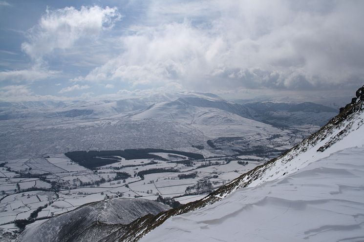 Clough Head and the Dodds with Doddick Fell below