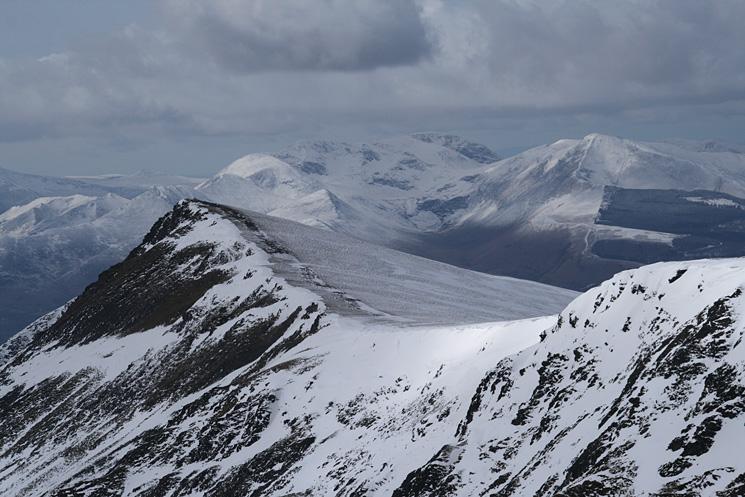 Gategill Fell Top with the north western fells beyond