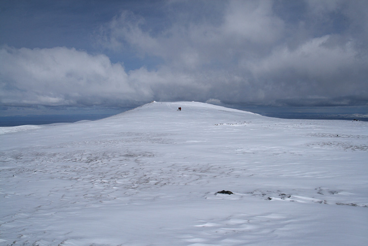Heading for Atkinson Pike