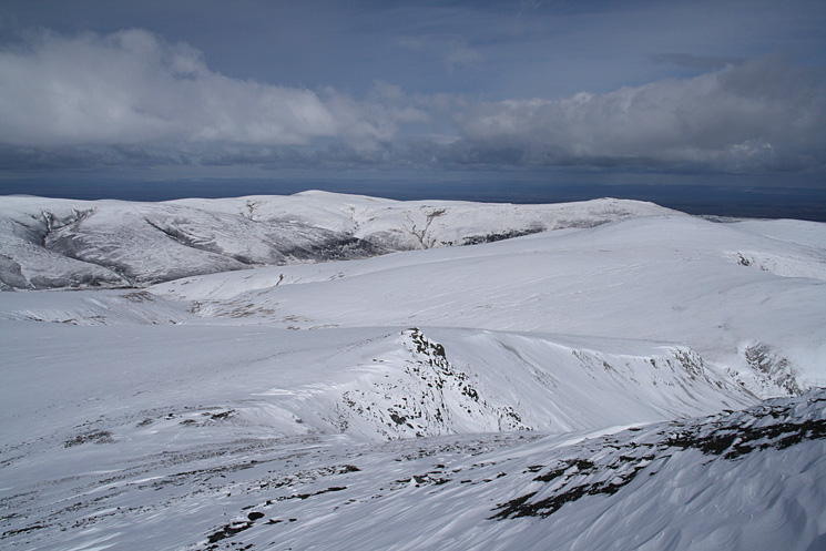 High Pike is the highest point on the skyline