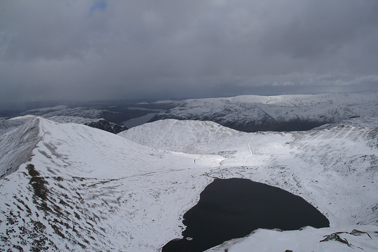 Catstycam, Birkhouse Moor and Red Tarn