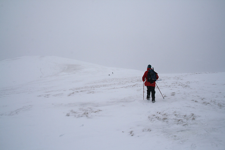 Heading for Great Dodd, just visible on the left, from Watson's Dodd
