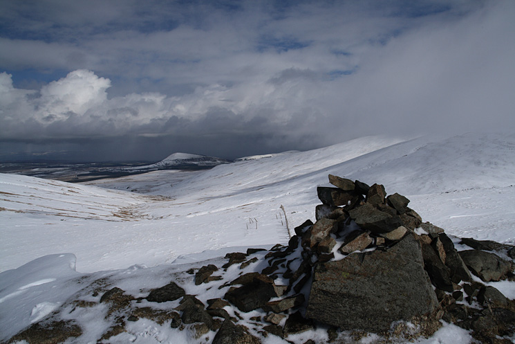 Great Mell Fell from Calfhow Pike's summit