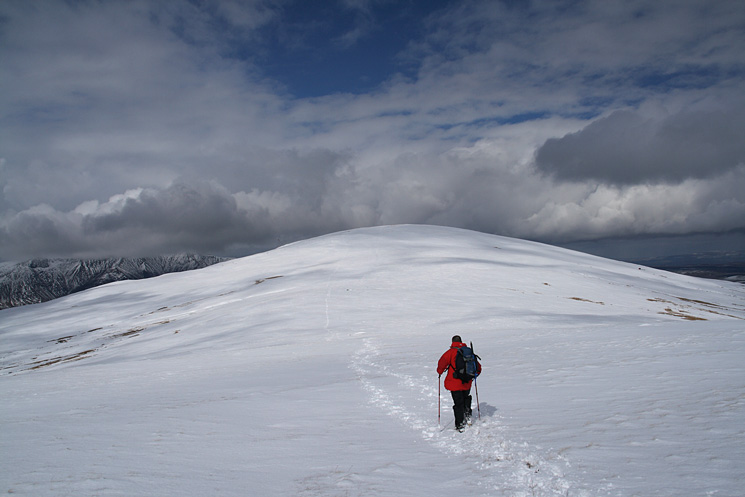 Heading for Clough Head from Calfhow Pike
