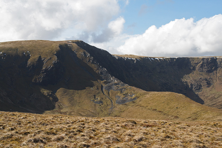 Bannerdale Crag's east ridge