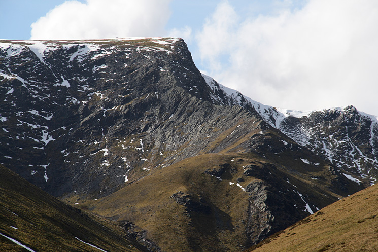 Zooming in on Sharp Edge and Foule Crag