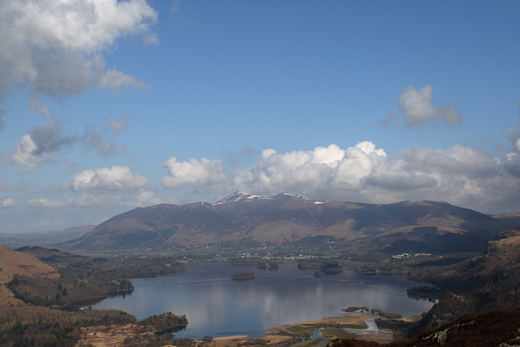 Skiddaw and Derwent Water from King's How, again, what a view!