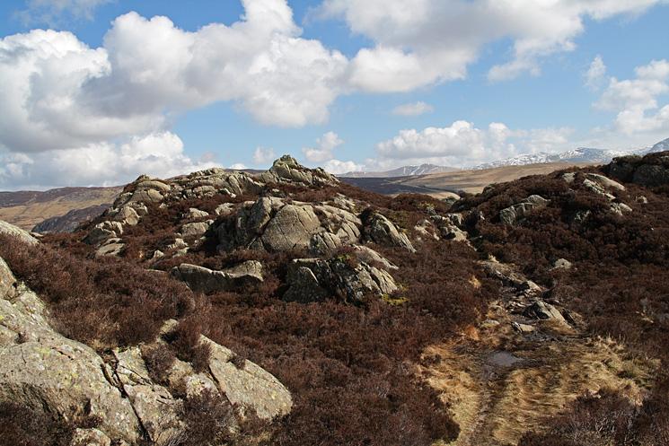 Brund Fell the highest top on Grange Fell