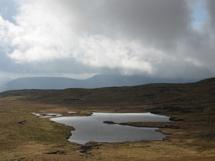 Greensett Moss with Ingleborough still in cloud