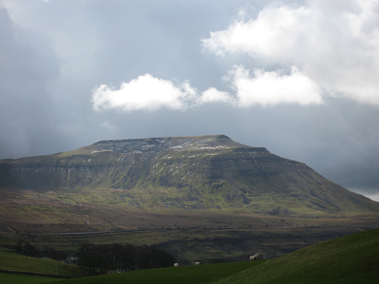 Zooming in on Ingleborough