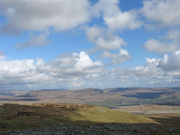 Looking towards Pen-y-ghent, the third of the Yorkshire Three Peaks