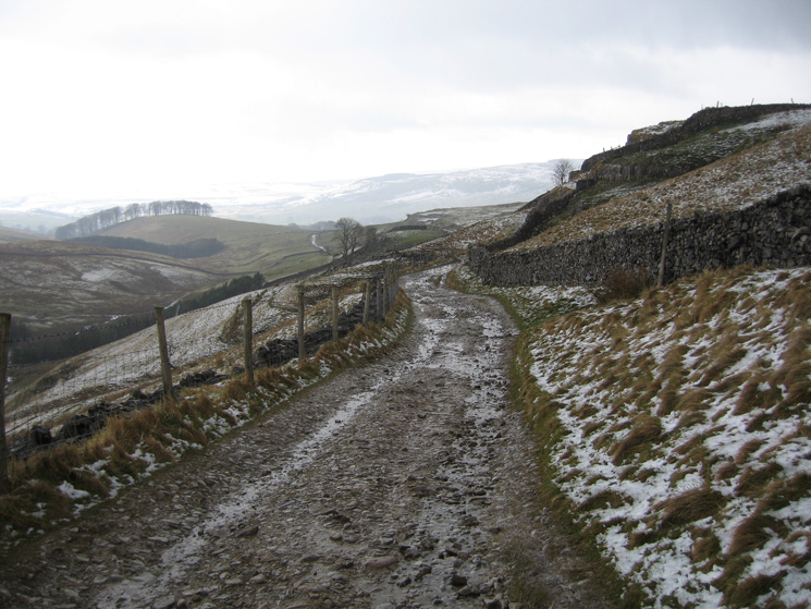 The Pennine Way to Horton-in-Ribblesdale