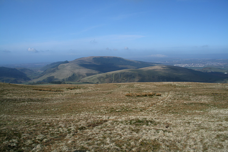 Dent and Flat Fell from our ascent of Blakeley Raise