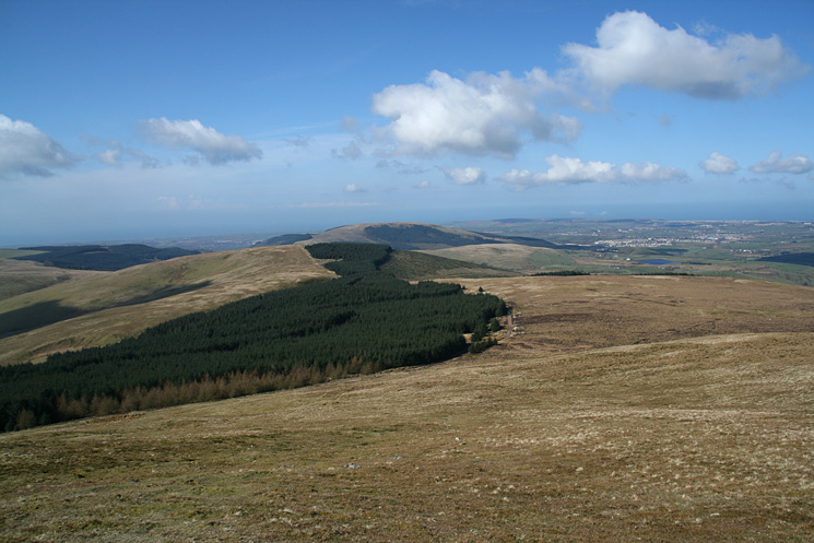 Looking back to Blakeley Raise from Grike