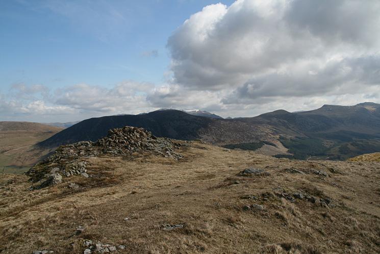 Crag Fell's summit