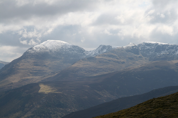 Zooming in on Pillar, Black Crag, Steeple and Scoat Fell