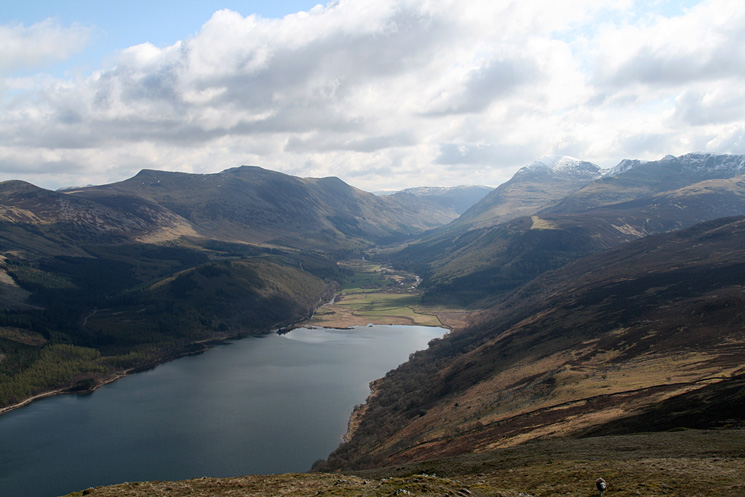 Looking up Ennerdale from Crag Fell
