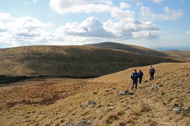 Heading for Whoap, with Lank Rigg beyond