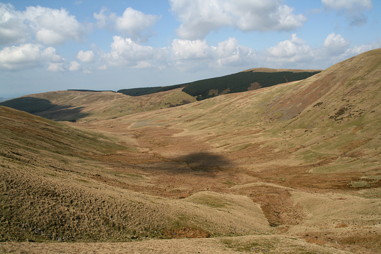 The valley of Whoap Beck