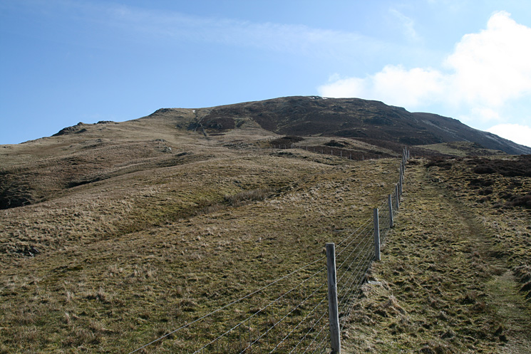 The steep bit over but Robinson's summit is still some way off