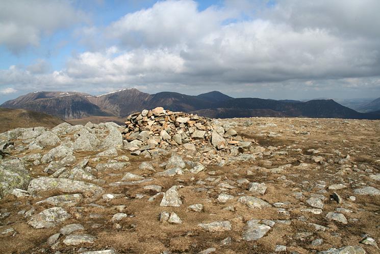 The Grasmoor fells from Hindscarth's summit