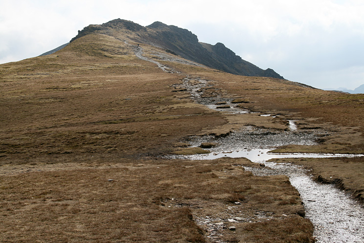 Dale Head from Hindscarth Edge