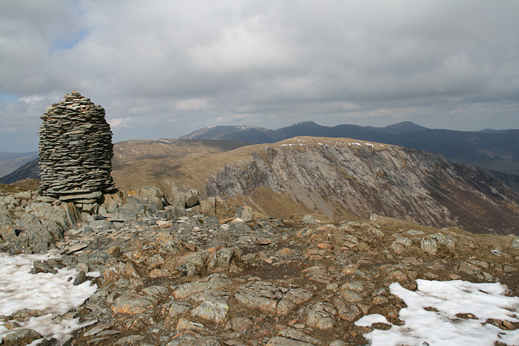 Hindscarth from Dale Head's summit