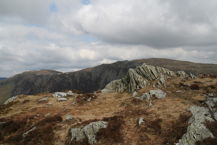 Hindscarth and Dale Head from Black Star's summit