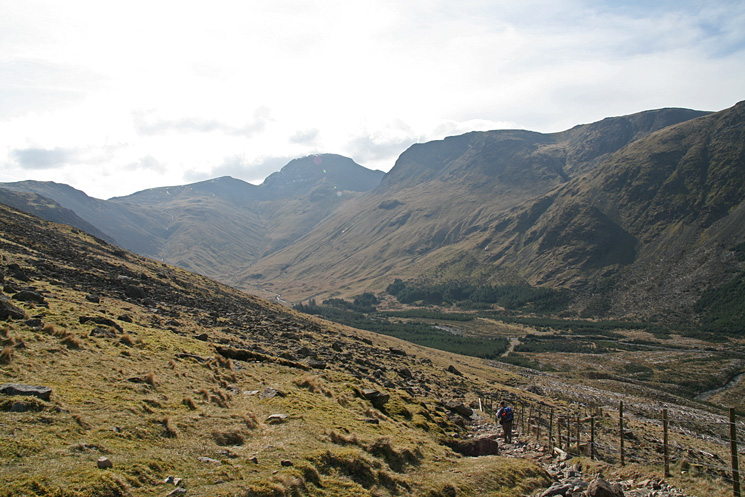 Descending to the head of Ennerdale