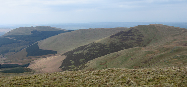 Graystones (left) and Broom Fell (right)