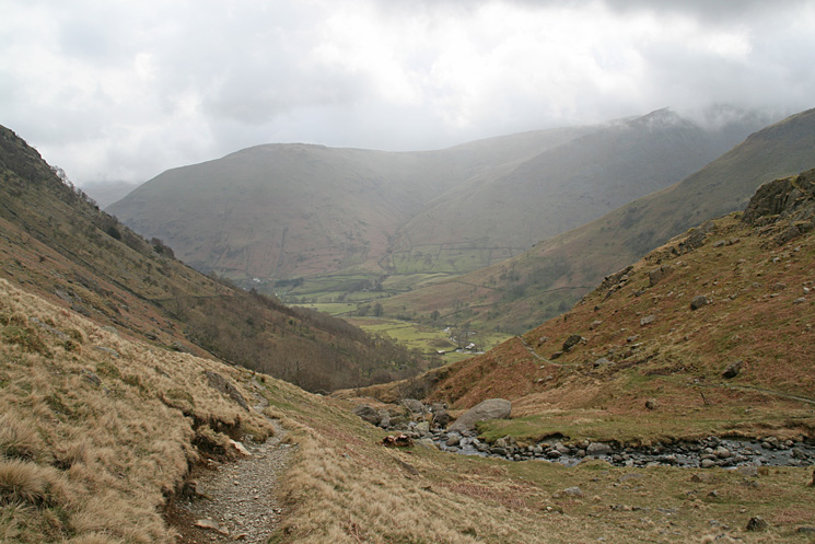 Looking back down Dovedale