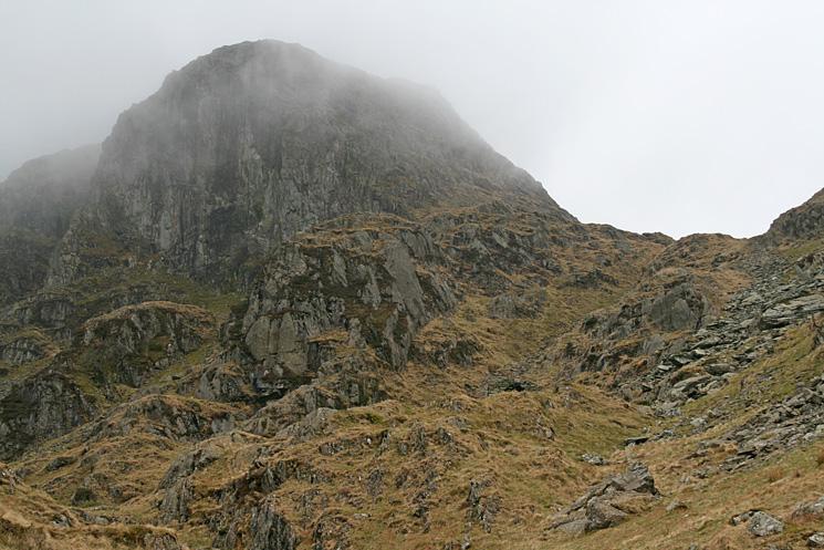 Dove Crag looking very imposing