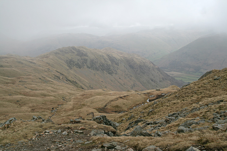 Hartsop Above How from above Houndshope Cove