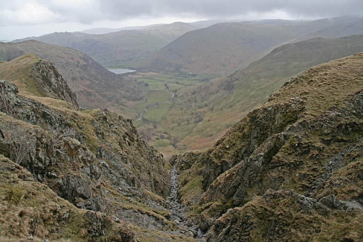 The top of Hogget Gill