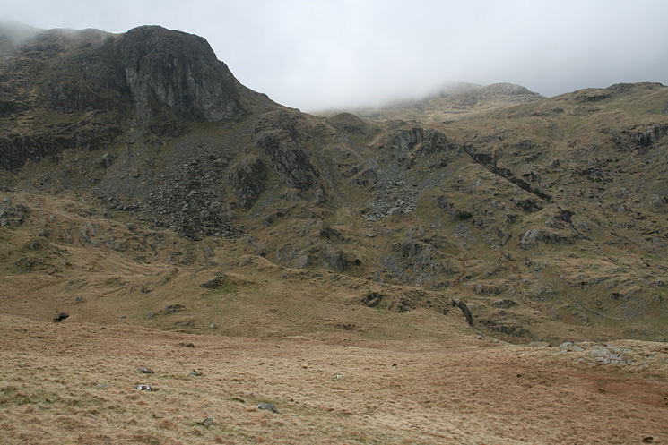 Dove Crag and my ascent route