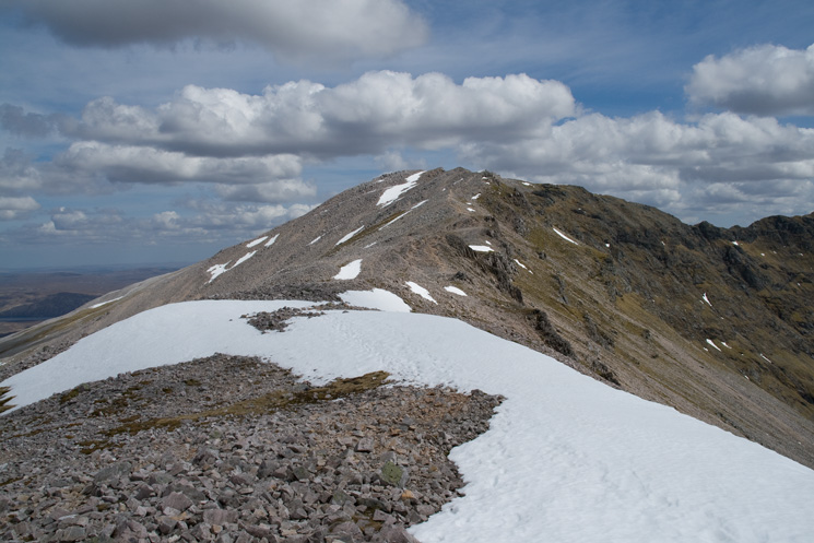 The ridge to Ben More Assynt