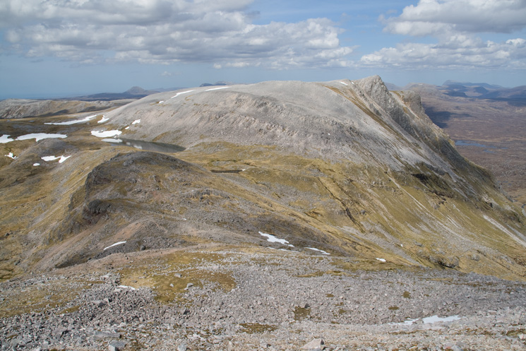 The view north from Conival
