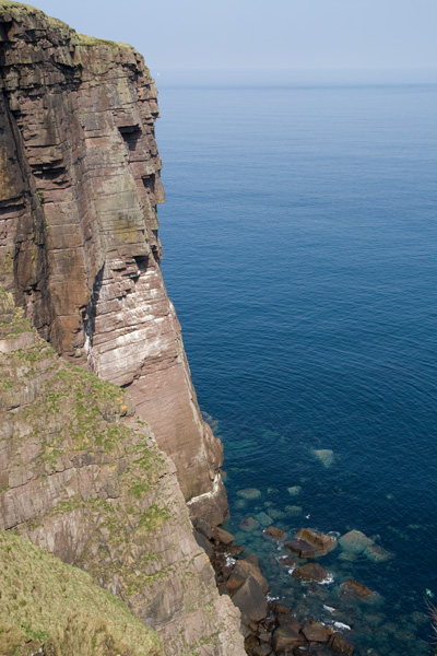 Cliffs at Puffin Bay, Handa
