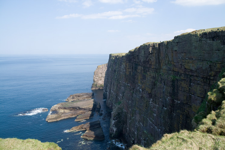Handa sea cliffs