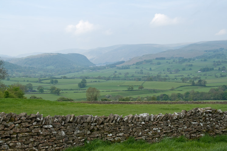 Looking towards Haweswater from the Shap - Bampton Grange road