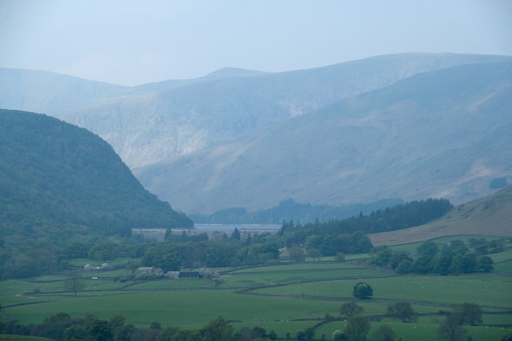 Zooming in on Haweswater Dam