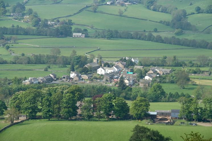 Zooming in on Bampton Grange