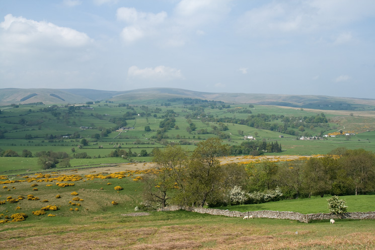 Looking across to Loadpot Hill