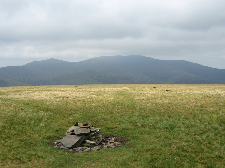 Skiddaw from Mungrisdale Common's summit